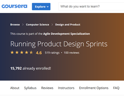 Coursera - Running Product Design Sprints