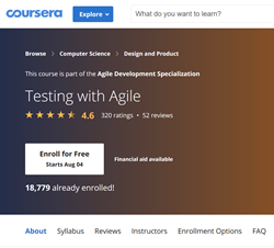 Coursera - Testing with Agile