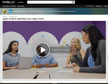 LinkedIn Learning - Agile at Work: Building Your Agile Team