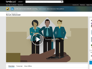LinkedIn Learning - Scrum Advanced